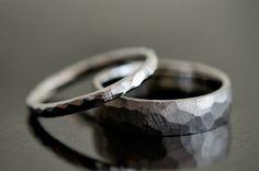 鎚目 結婚指輪 プラチナ - Google 検索