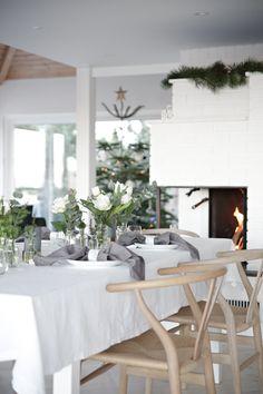 Julpyntat hemma hos duktiga Nina Holst ‹ Dansk inredning och design