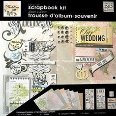 """me & my Big ideas Wedding Day Scrapbook Pages Kit - 12"""" x…"""