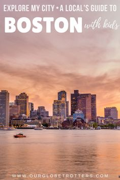 A local mom talks us through all the best family-friendly things to do in Boston, MA. Where to eat and stay and important lessons from history to sport in Boston with kids | Explore My City -  family travel with kids | Boston Massachusetts Family Vacation | OurGlobetrotters.com Boston With Kids, In Boston, Boston House, Usa Travel Guide, Travel Usa, Travel Guides, Travel Tips, Best Places To Travel, Best Cities
