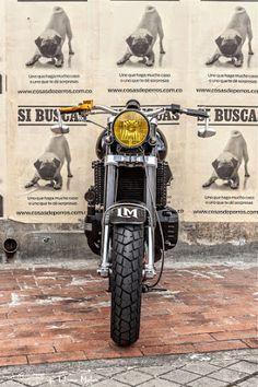 BMW K100 Cafe Racer by Lolana Motos - Photos by Juan Jaramillo #motorcycles #caferacer #motos | caferacerpasion.com