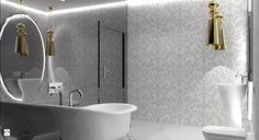 Łazienka styl Glamour - zdjęcie od LOMAdesign - Łazienka - Styl Glamour - LOMAdesign