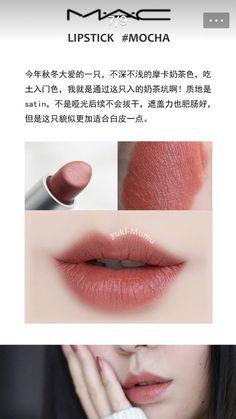 Best Inspiration Mate Makeup : mac mocha Beste Inspiration Mate Make-up: Mac Mokka -mehr – Mac Makeup Looks, Best Mac Makeup, Latest Makeup, Makeup Dupes, Skin Makeup, Makeup Cosmetics, Makeup Products, Korean Makeup Tips, Korean Makeup Look