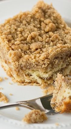 "Crumb Coffee Cake hoping this is the same recipe my mom used to make. she used to call it ""buttermilk pie"""