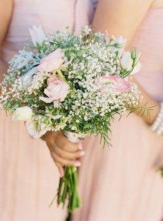 Pink Bouquet for Bridesmaids