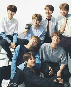 BTS FAMILY - I Hope that thies Precious Smiles will never change. You guys are like a ray of light that gives hope to move forward. I love them so much, my happiness is Bangtan. ❤❤❤ #RayofHope