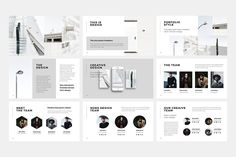 NORS Powerpoint Template + Big Bonus by PixaSquare on Professional Powerpoint Templates, Creative Powerpoint, Powerpoint Presentation Templates, Keynote Template, Presentation Slides, Keynote Design, Mockup Photoshop, Layout Design