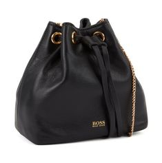 Hugo Boss Kristin Mini Draws Mini sac à cordon de serrage en cuir italien Bucket Bag, Fashion, Man Women, Drawstring Bags, Italian Leather, Mini Bag, Mens Shoes Uk, Cords, Bags
