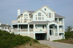 Semi-Oceanfront Outer Banks Rentals | Pine Island Rentals | Worth The Waite