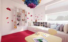 Oryginalne pokoje dla dziewczynek