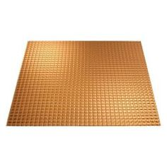 square polished copper layin ceiling tile