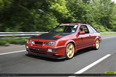 Ford Sierra XR4TI Ford Sierra, Ford Rs, Car Ford, Sport Cars, Race Cars, Step Kids, Ford Escort, First Car, Cars And Motorcycles