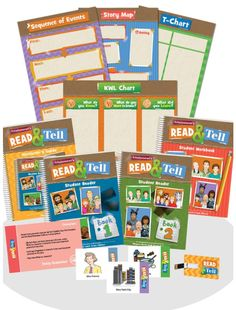 Attainment's new Read and Tell curriculum is a collection of 32 adapted novels for elementary or secondary students!