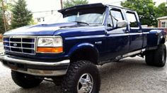 1997 OBS Ford F350 with 6 position ts and trans cooler