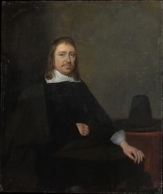 Gerard ter Borch, Portrait of a Seated Man (ca. 1660, Metropolitan Museum of Art, New York)