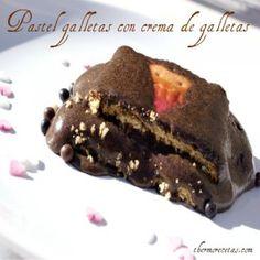 Vista previa del artículo Pastel de galletas con crema de galletas