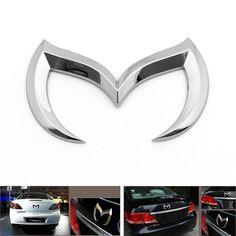 Mad Hornets - 3D Bat Batman Metal Car Vehicle Emblem Badge Sticker Decal Mazda 3 5 6, Silver, $14.99 (http://www.madhornets.com/3d-bat-batman-metal-car-vehicle-emblem-badge-sticker-decal-mazda-3-5-6-silver/)