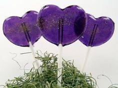 Fairy Wings Lollipop - Blackberry with Orange Blossom Honey Purple Love, All Things Purple, Shades Of Purple, Purple Stuff, Periwinkle, Lilac, Edible Favors, Edible Wedding Favors, Orange Blossom Honey