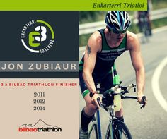 Cromo Enkarterri Triatloi Jon Zubiaur para Bilbao Triathlon
