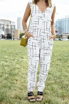 printed jumpsuit // today on chicityfashion.com