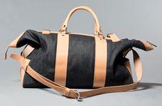 Nudie Jeans Denim Weekender Bag