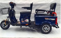 Electric passenger tricycle