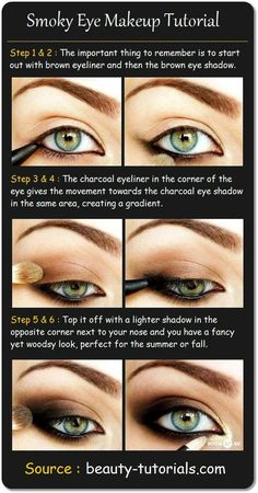 Smokey Eye Makeup for Blue Eyes Step by Step