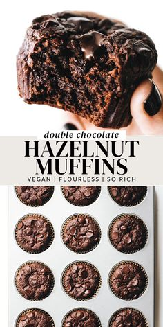 Gluten Free Vegan Cupcakes, Easy Gluten Free Desserts, Gluten Free Muffins, Gluten Free Treats, Gluten Free Baking, Vegan Baking, Vegan Breakfast Muffins, Vegetarian Muffins, Vegan Muffins