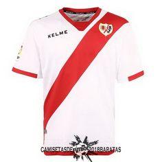 Casa Blanco Camiseta Rayo Vallecano 2017 2018