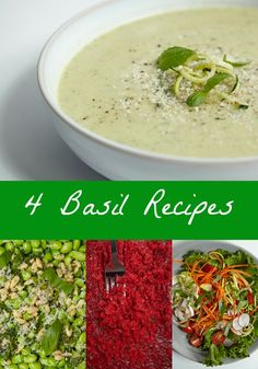 4 Ways to Cook with Basil