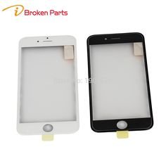 IBROKENPARTS AAA 3 in 1 LCD Front Touch Screen Glass Outer Lens with frame OCA for iphone 6s&6s plus Touch Panel Replacement