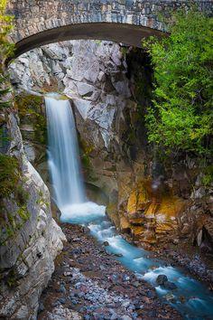 Christine Falls - Mount Rainier National Park, Washington