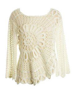 crochet>>link is in Russian, but the top is gorgeous.  Hope to translate and check for tutorial soon.