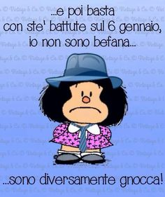 #mafalda #befana