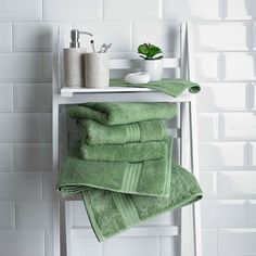 Fern Egyptian Cotton Towel | Dunelm