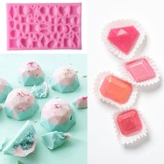 Chocolate Cake Silicone Fondant Mould Jewelry Gemstones Baking Molds Kitchen | eBay