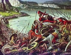 Battle of Thermopylae. The 'real' 300. Amazing to think that if Persia's Xerxes had been successful - that hellenic culture, and that of Rome's would have been forever altered - had it not been for these men knowing that were all certainly going to their deaths.  10,000 to 1 or worse odds.  Oddly... Western Civ likely owes them at least a nod of gratitude.
