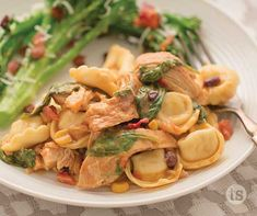 Delicious cheese tortellini, salsa, chicken and spinach slow-cooked to perfection.