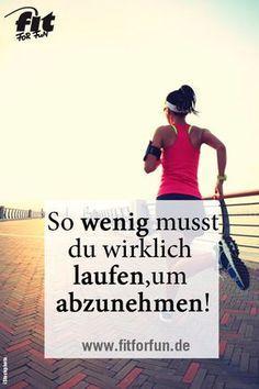 Es müssen nicht immer Long-Runs sein, wenige Kilometer die Woche sind ausreichend, um langfristig abzunehmen. #abnehmen #laufen #Diät #running