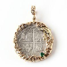 Bolivia, Potosi, Cob Silver 8 Reales From the Nuestra Senora de Atocha Sold $1,700