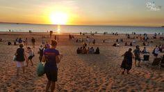 Sunset at Mindil Beach Darwin