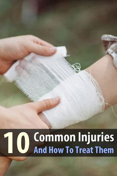 Basic first aid is not very complicated. And to prove it, I'm going to explain how to treat 10 common (and minor) injuries in one article.