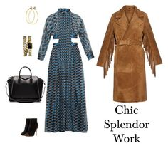 """Chic splendor"" by chic-splendor on Polyvore featuring Fendi, Gianvito Rossi, Burberry, Chanel, Jill Platner and Givenchy"