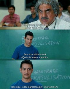 3 Idiots one of the best movie Film Quotes, Real Quotes, Movie Songs, I Movie, 3 Idiots 2009, Bollywood, Best Memes Ever, Sad Pictures, Aamir Khan