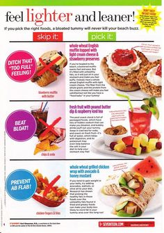 Healthy alternatives I would actually eat.