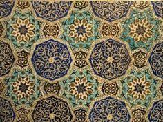 Iran, Safavid tiles