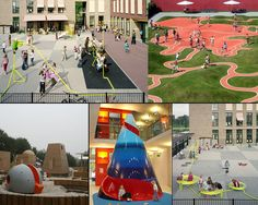 I like the road and green hills, very open ended. Perfect design for our back play area.
