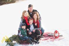 Monticello MN Winter Family Photos