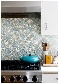 Benton & Tilley: Turkish Delight - tile backsplash