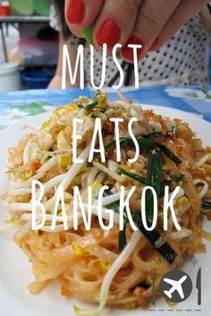 Must Eats Bangkok. Travel with Travelon bags!